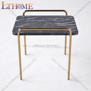 J16 Modern Style Rose Gold Metal Coffee Table Legs