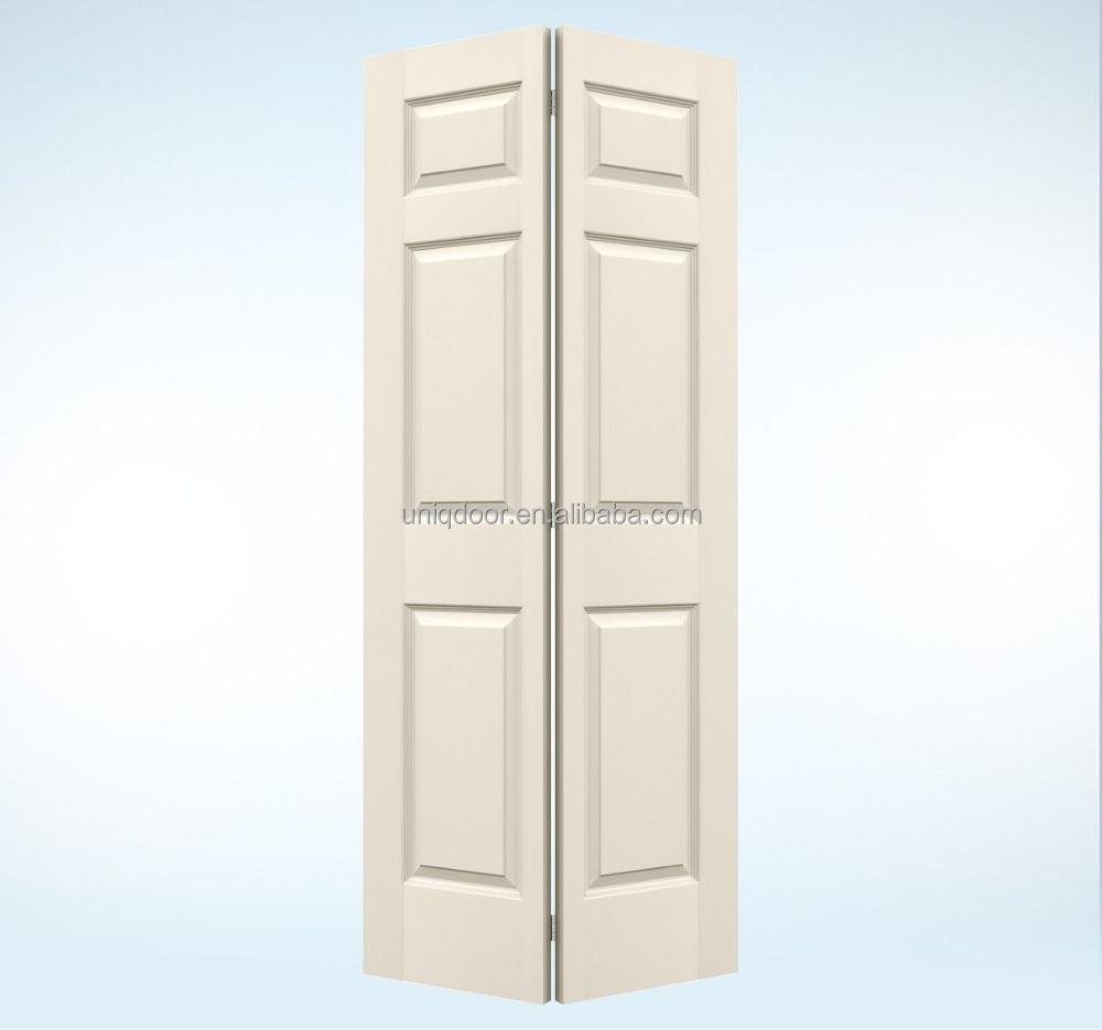 Finition lisse blanc couleur pin bois persienne coulissante placard portes pliantes porte image for Porte placard bois