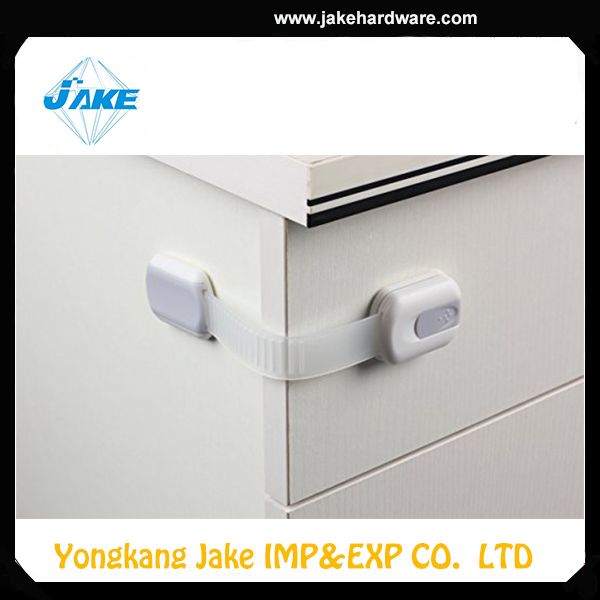 Customizable Adjustable Furniture Lock Strap Latches Baby Safety Cabinet Toggle Latch Locks