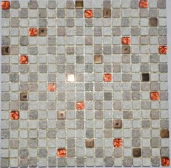 Décoration De Pierre De Mur De Salon Mosaïque De Marbre 30x60 Carrelage  Mural ...