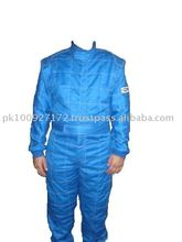 Shinny Blue Nomex Double Layer Suit Sfi Passed 3.2A/5