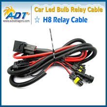 12V 35W HID Xenon Wire Harness Accessories Xenon Lamp H8 Relays