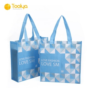 China Factory Promotional Logo Printed Laminated Custom Shopping PP Non Woven Bag
