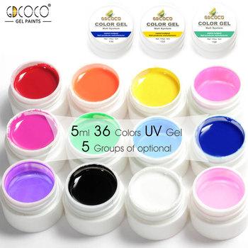 20200j Gdcoco Food Coloring Gel,12 Color Uv Gel,Gdcoco Pure Colors ...