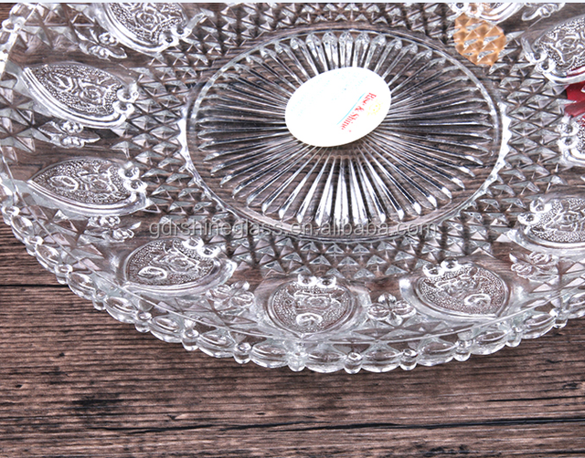 China supply decorative round glass restaurant wedding plates glass dinner plate with different sizes & China Dinner Plates And Sizes Wholesale ?? - Alibaba