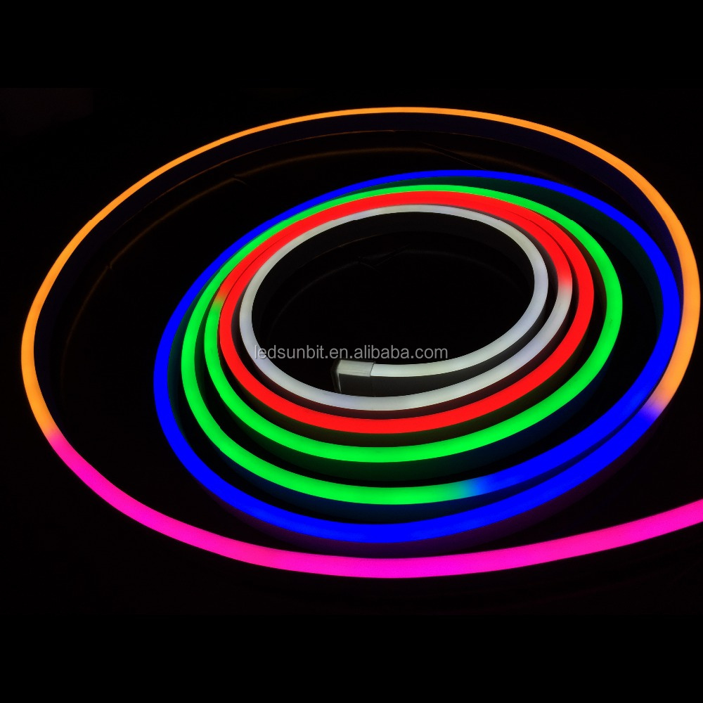 24v Rgb Led Neon Flex With Dmx Controller