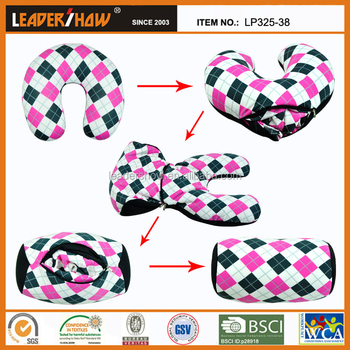 2 In 1 Pillow Function Pillowtravel Neck Pillow Filled In