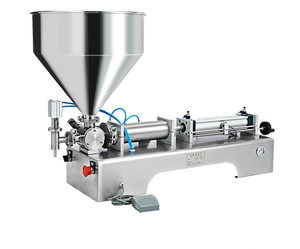 Automatic pouch tube bottled paste liquid filling machine for juice cream perfume oil honey straw Pneumatic filling