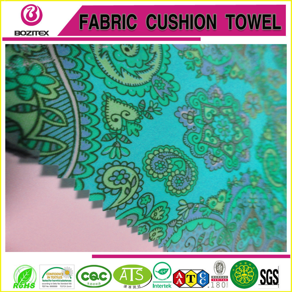 China factory high quality printed polyester taffeta for garment lining bag