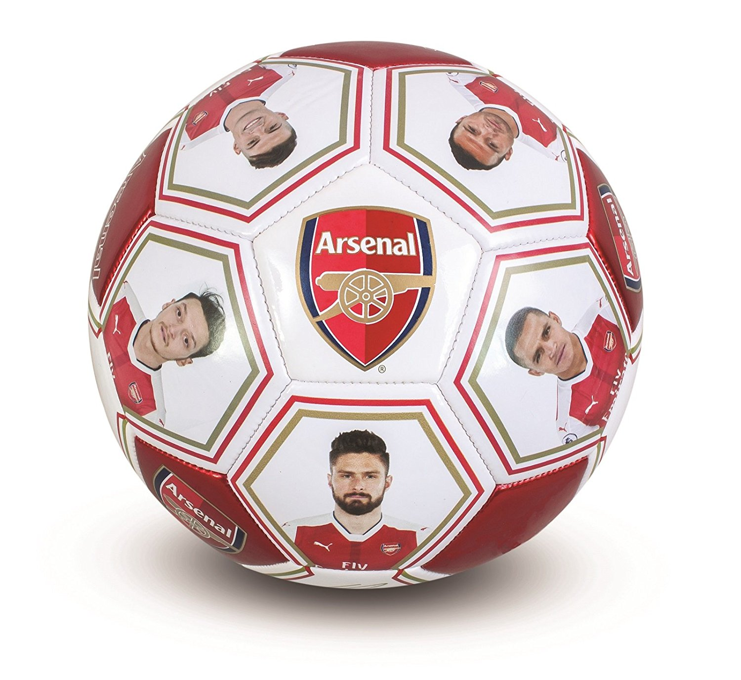 Arsenal FC Official Gift Size 5 Player Photo & Signature Football