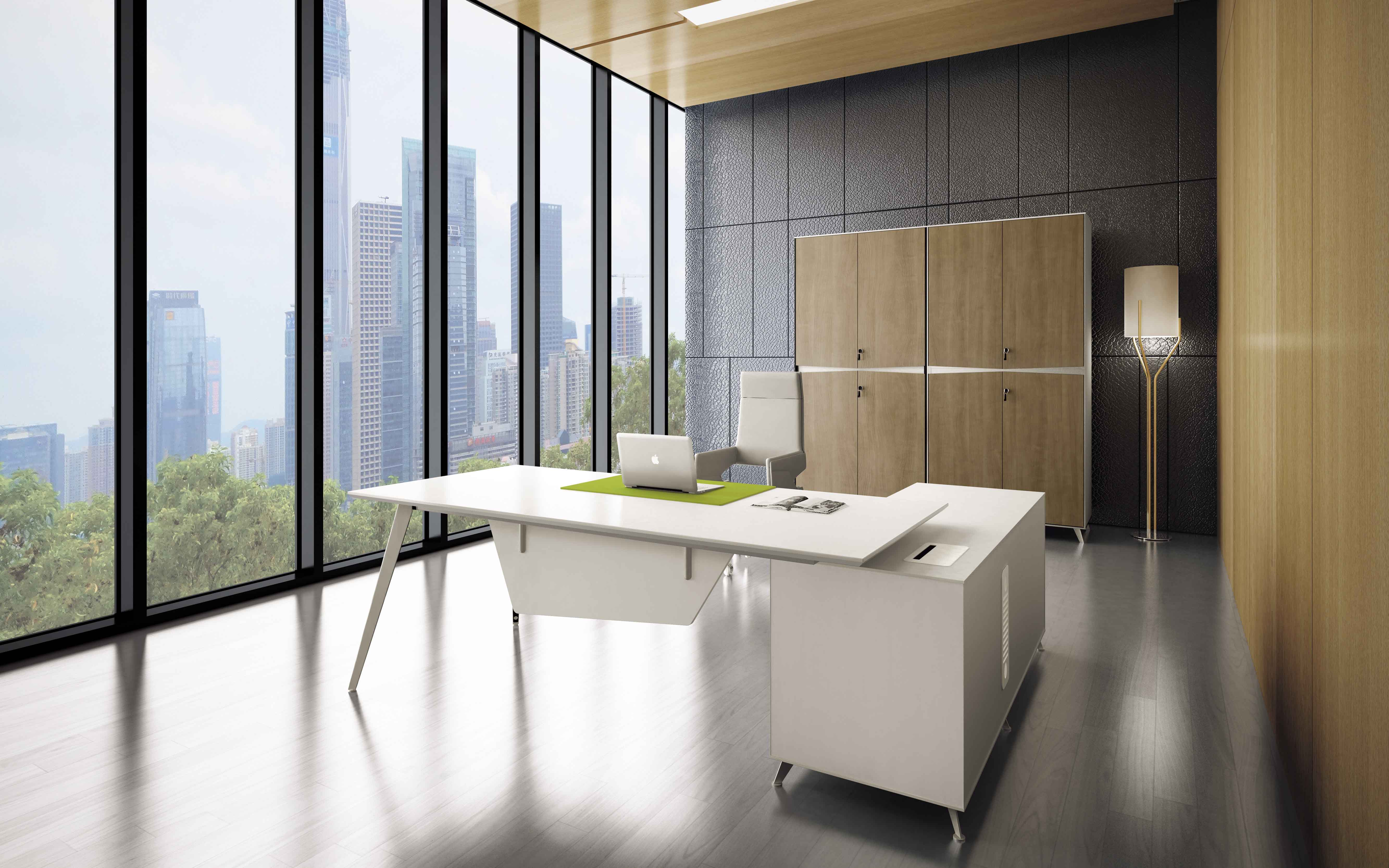 China office furniture white executive desk wooden office desk modern executive table for sale