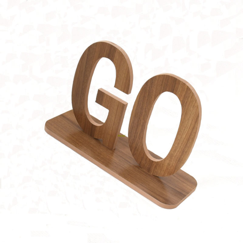 Excellent Quality Wooden Arts Crafts Wholesale Wood Carving Sign board Letters