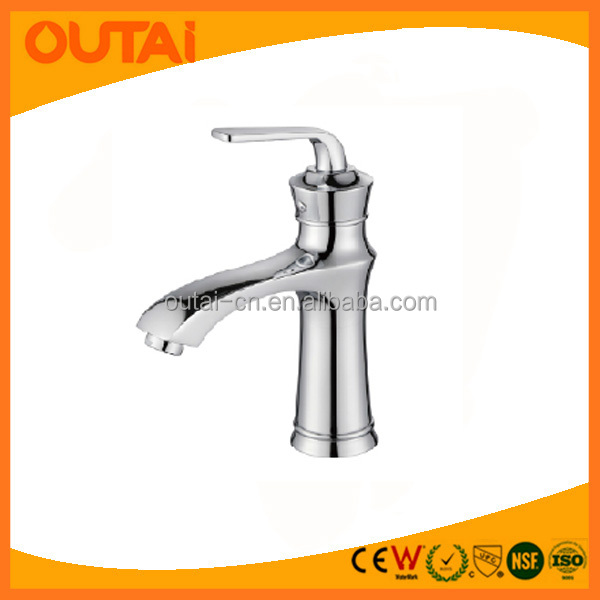 Online Shop China Sanitary Ware UPC Modern Water Tap Brass Chrome BathroomSink Wash Basin Mixer Bathroom Faucet