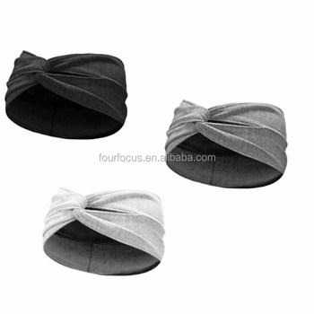 Women Twisted Knotted Soft Hair Band Turban Twist Head Wrap Headband ... 08cec12616b