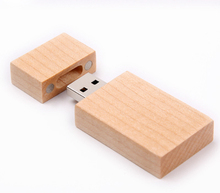 OEM Bulk Wooden Usb Flash Drive 1GB 2GB 4GB 8GB Pendrive with Laser engraved Logo
