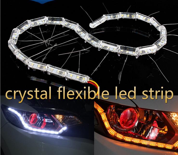 installation d'éclairage à bande flexible