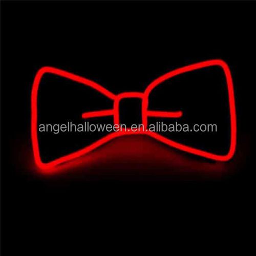 2016 Fashion Glowing Flashing El Sound Activated Electronic Flashing Djs Tie For Party Bar Club With Red Pink Blue Green El Back To Search Resultsapparel Accessories