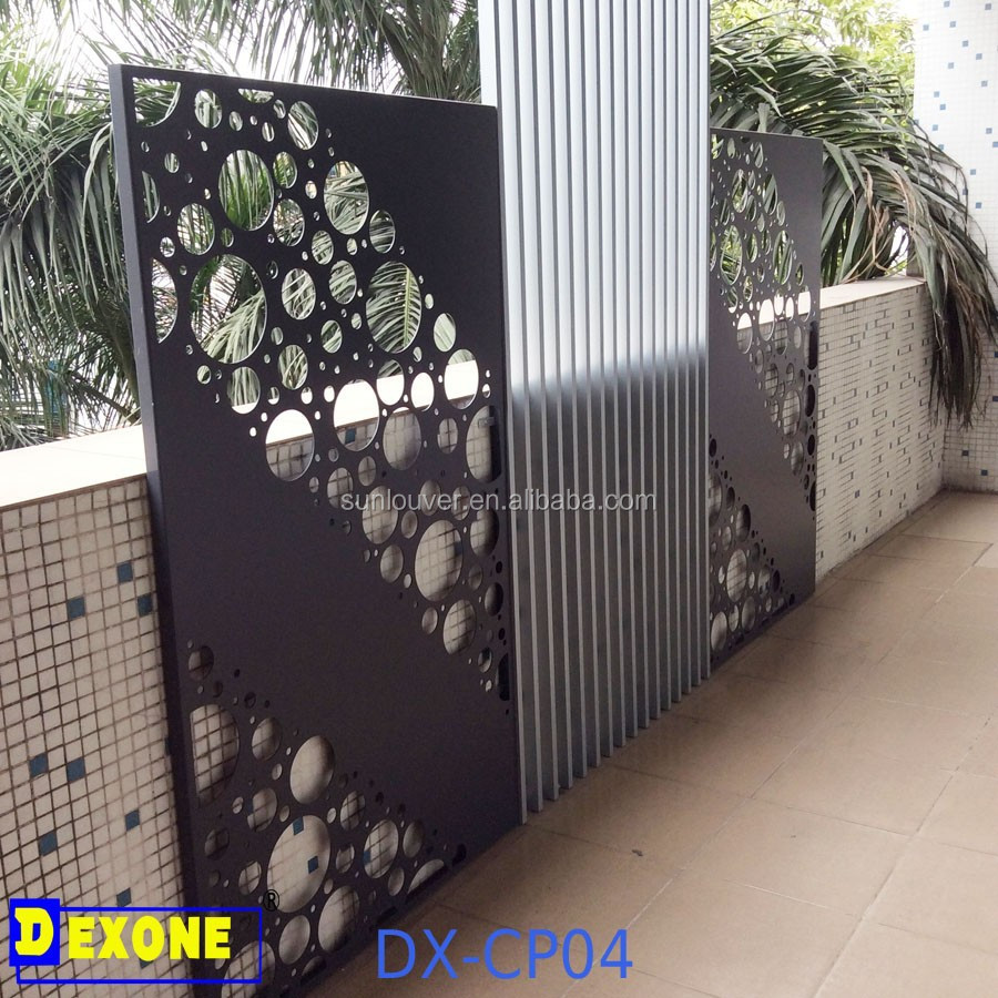 Architectural m tal aluminium panneau d coratif pour fen tre cl ture fa ade mur mur rideaux - Panneau decoratif jardin metal ...