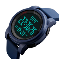 current silicone blet sport watches 5atm outdoor digital wristwatch skmei 1257