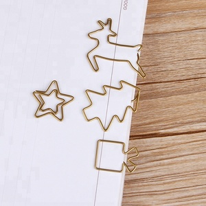 Beautiful metal paper clip best christmas hot items