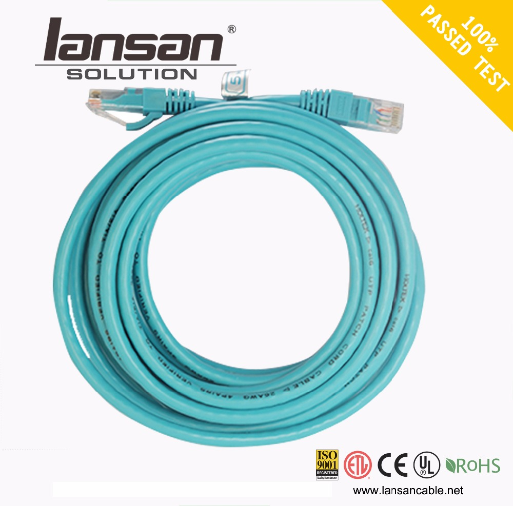 100mhz Lsoh 4pr 24awg Rj45 Utp Cat5e Patch Cord Ethernet Cable - Buy ...