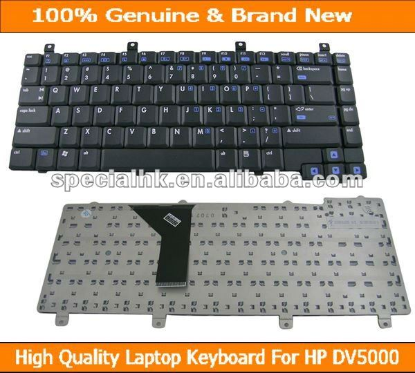 New Genuine Keyboard for HP Compaq Pavilion DV5000 ZV5000 ZV6000 ZE2000 Series Black Notebook 350211-001