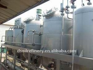 10t/d rice bran crude oil refinery for sale