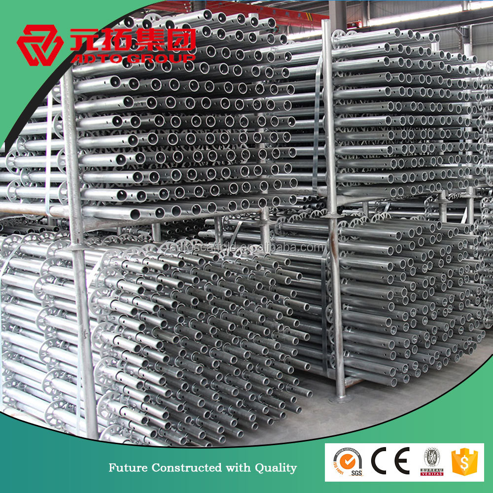 High performance and safe building material ringlock system metal scaffolding