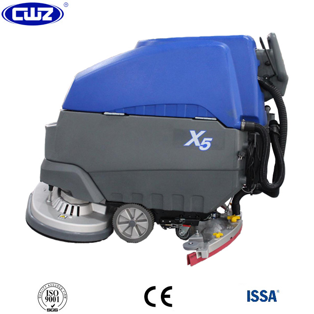 Shopping mall used push type floor dry cleaning machine