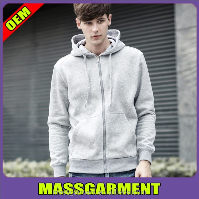 China manufacturer customized cotton /polyester full zipper soft hoodies outdoor men athletic hoodies embroidered logo
