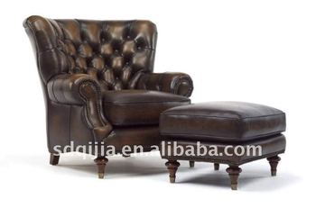 Bon Classic Leather Armchair
