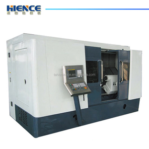 High speed small slant bed lathe and milling machine cnc turning center TCK7536D
