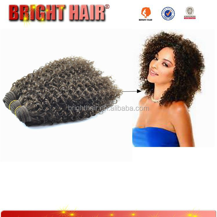 top quality brazilian remy crochet hair weft,cheap human hair tight curly extensions