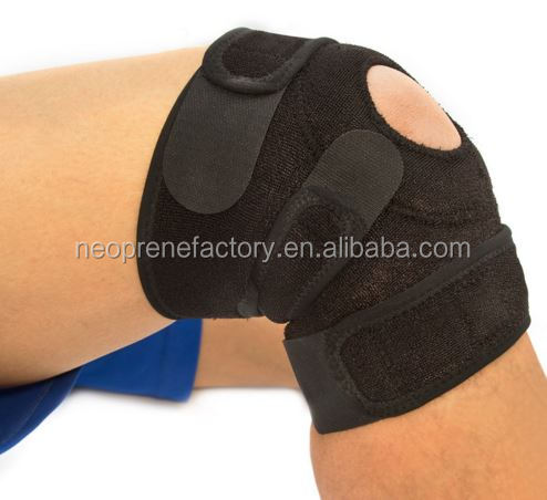 Neoprene knee support wrap brace patella OEM