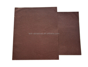 9 Inch x 11 Inch Aluminum oxide Abrasive Wet And Dry Sandpaper