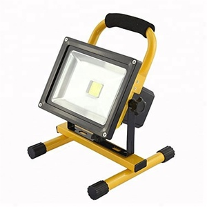 30 Watts Indoor/Outdoor LED Flood Light IP 65 Waterproof Rechargeable Portable Job Site Work Light