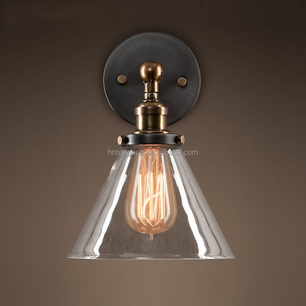 Industrial American Vintage Wall Lamp Retro Outdoor Wall Light Home Lighting Restaurant Bedroom Fixtures