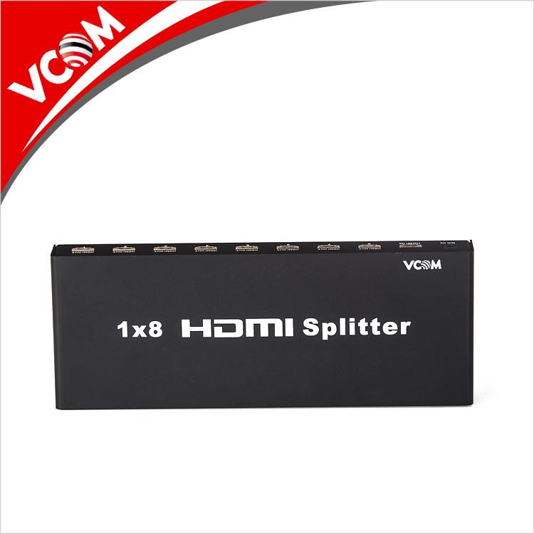 מכירה לוהטת Hd 1.4 v 3D נתמך 1 ב 8 מתוך 1x8 hdmi ספליטר