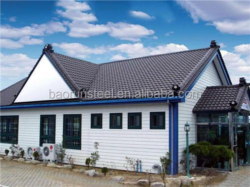 Modern design steel building Latest Style Light Gauge Steel Structure Prefabricated House