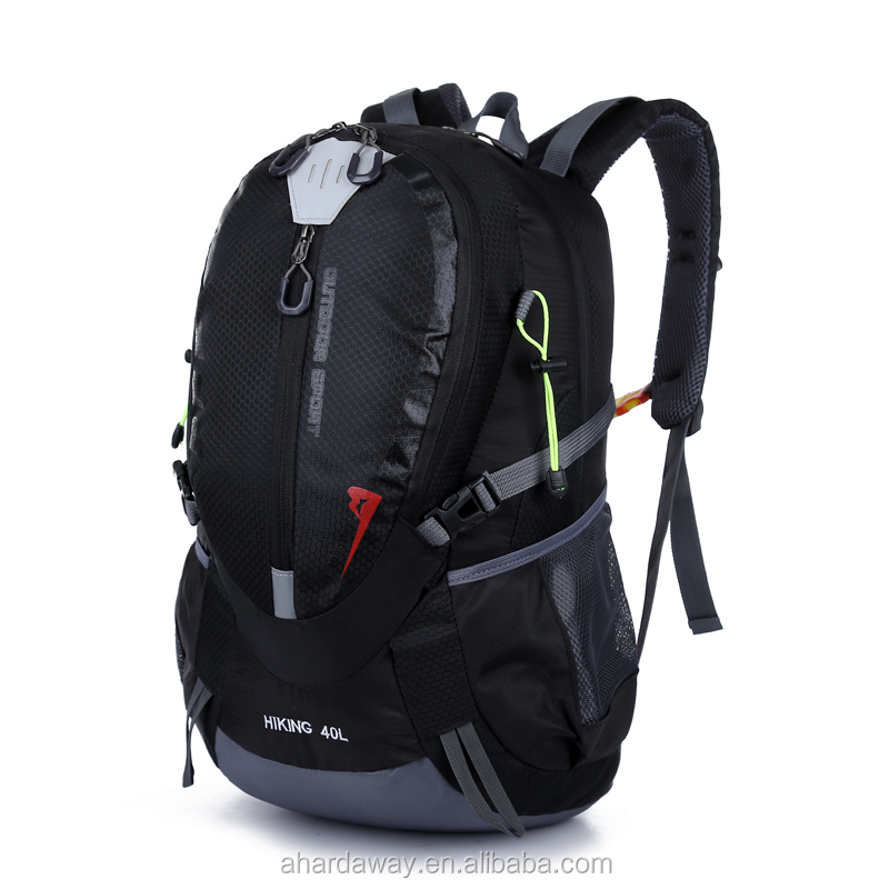 simple waterproof hiking climbing backpack travel bag