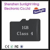 1GB class 4 TF Card SD Card Mini SD Card