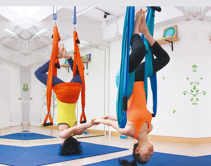 Wholesale high quality air flying swing antigravity yoga aerial yoga hammock