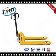 Nylon/PU/Rubber wheel pallet truck with hand brake