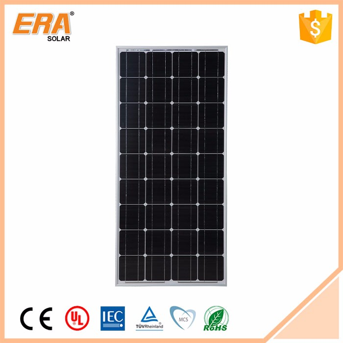 Top one hot selling 150W solar panel and made in China cheaper 150 watt mono crystalline panel