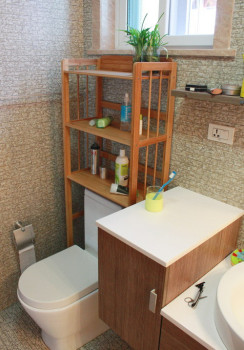 Toilet Storage Shelf Bathroom Rack