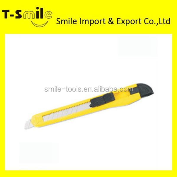 2014 hand tools office pocket utility knife auto retract utility knife