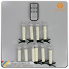 Christmas Remote Color Changing LED Candle with Clips
