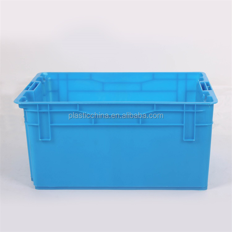 BX0662 20KG kindergarten use plastic crates for bread plastic dinner logistics box
