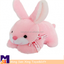 OEM Factory custom cute long ear stuffed plush bunny, plush easter bunny