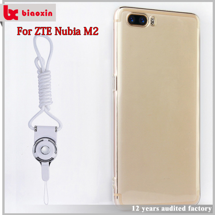 Hot sale 2017 trade assurance TPU case for ZTE Nubia M2 case back cover